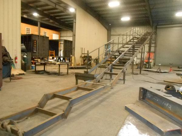 Conveyor Frame Shop Fabrication