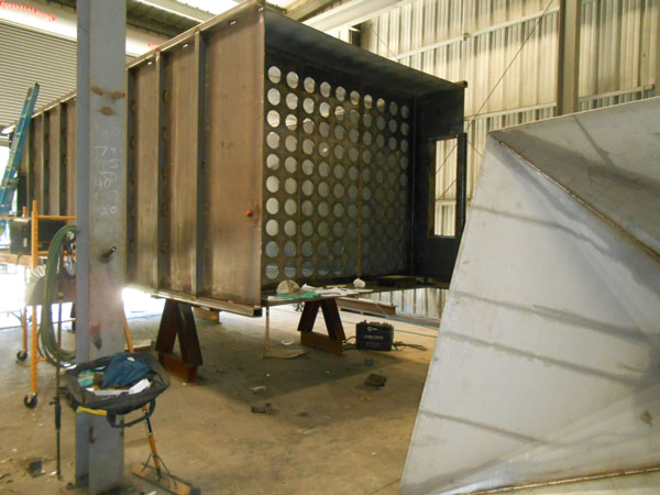 Dust Collector Shop Fabrication