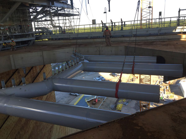 Water Cooling Pipe Installation, Stennis, MS